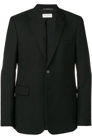 Saint Laurent Inpassad enkelknäppt blazer