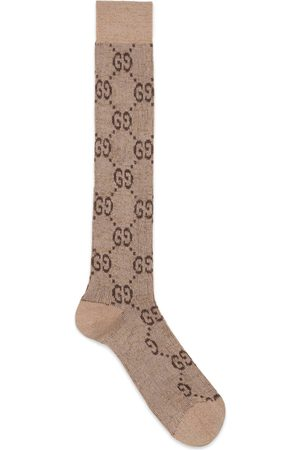 Gucci Man Strumpor & Sockar - Lamé GG socks