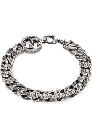 Gucci Interlocking G chain bracelet in silver