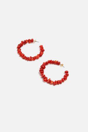 Zara örhängen med ring och