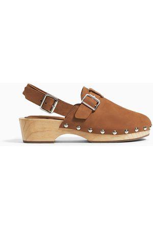 Zara Träsko i läder