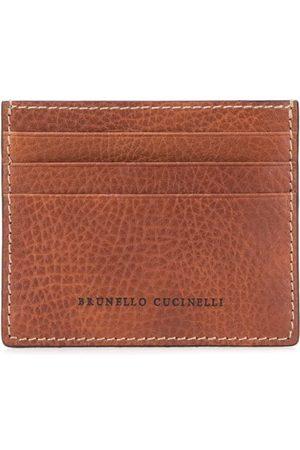 Brunello Cucinelli Korthållare med präglad logotyp