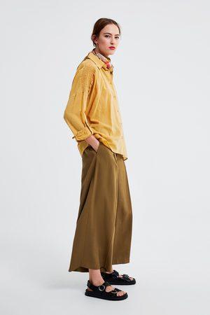 Zara Kombinerad skjorta med resår