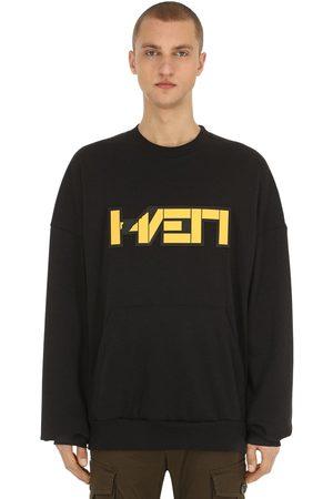 Hærværk Man Sweatshirts - 3d Patch Bag Sweatshirt