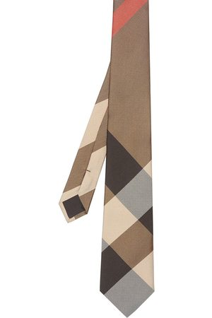 Burberry Rutig slips i oversize-modell med modernt snitt
