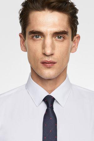 Zara Kvinna Bred slips i jacquard med neon