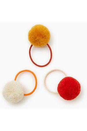 Zara Trepack hårband med runda tofsar