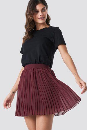NA-KD Kvinna Minikjolar - Mini Pleated Skirt