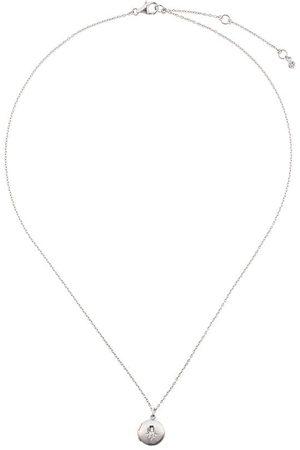 ASTLEY CLARKE Biography medaljong med safir
