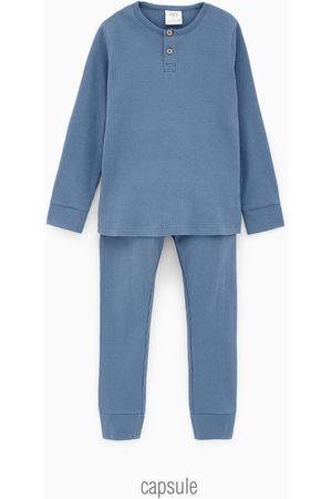 Zara Pyjamas med krage med knappar