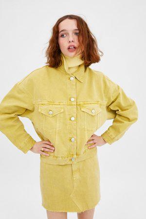 Zara Jeansjacka med färg