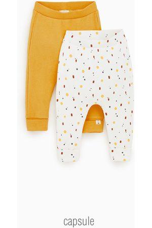 Zara Tvåpack leggings med tryck
