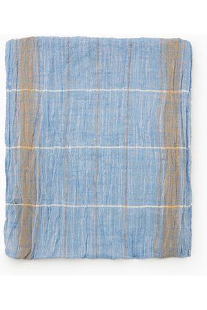 Zara Rutig scarf med fransar