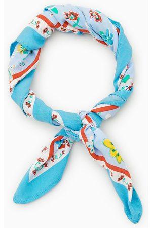 Zara Blommig scarf