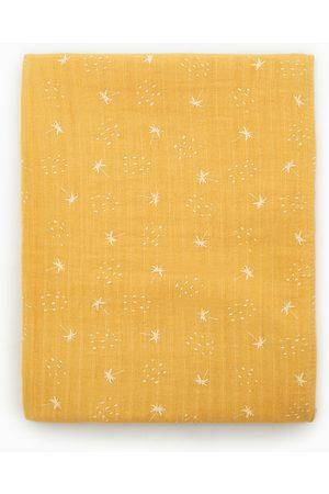 Zara Printed muslin scarf