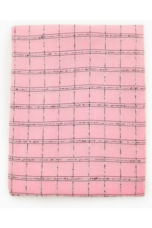 Zara Kvinna Sjalar & Halsdukar - Triangulär scarf med rutor