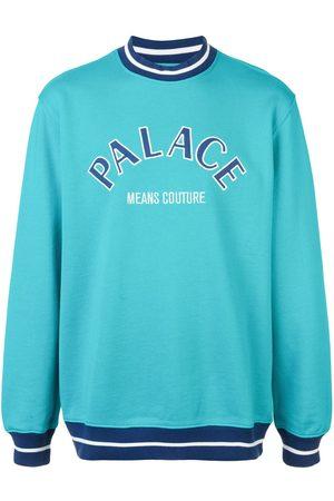 PALACE Sweatshirt med logotyp