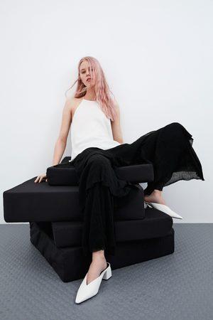 Zara Topp med halterneck