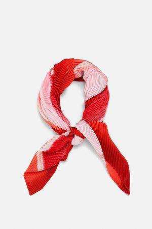 Zara Plisserad scarf