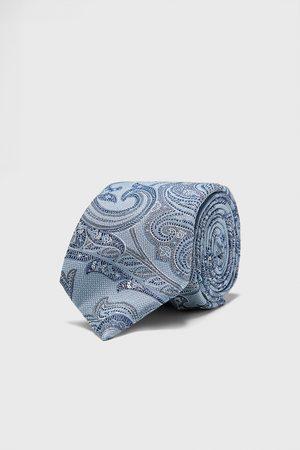 Zara Bred slips i jacquard med paisley