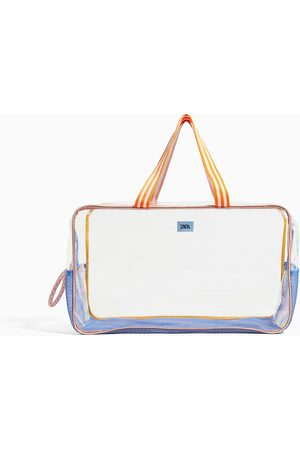 Zara Vinyl maxi beach bag