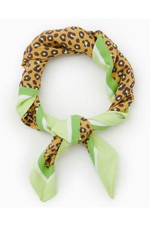 Zara Leopardmönstrad scarf