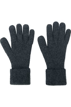 N.PEAL Man Handskar - Ribbade handskar