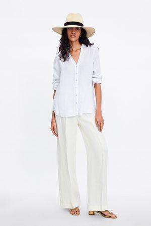 Zara Linneskjorta med knappar