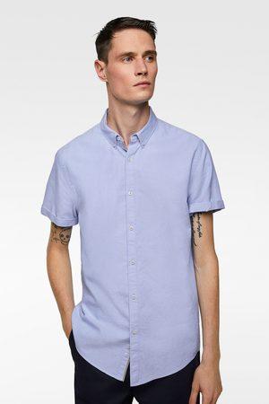 Zara Kortärmad skjorta