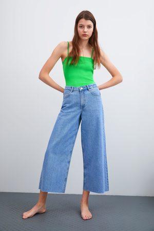 Zara Culottejeans mid-rise