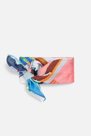 Zara Mönstrad scarf