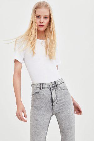 Zara Kvinna Jeggings - Jegging hi rise super elastic