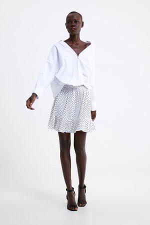 Zara Plisserad minikjol