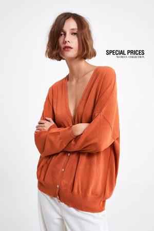Zara Stickad oversize kofta