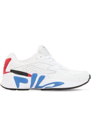 Fila Man Sneakers - Mindblower Faux Leather Sneakers
