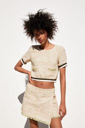 Zara Byxkjol av tweed