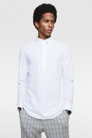 Zara Comfort knit textured shirt