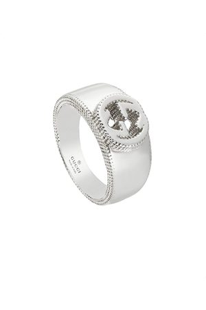 Gucci Kvinna Ringar - Interlocking G ring in