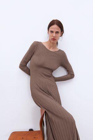 Zara Stickad klänning limited edition