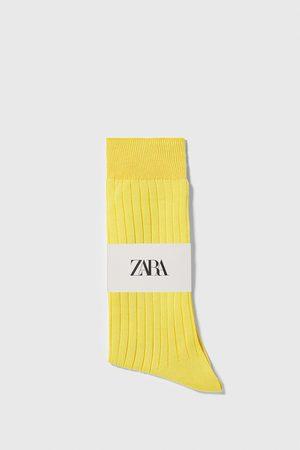 Zara Ribbstickade strumpor