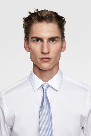 Zara Bred tvåfärgad slips