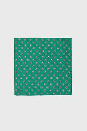 Zara Bröstnäsduk med slipsmönster