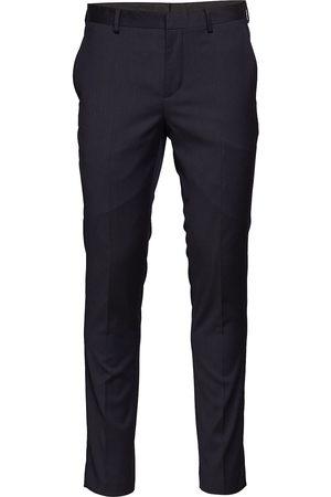 Selected Slhslim-Mylobill Navy Trouser B Noos Kostymbyxor Formella Byxor Svart