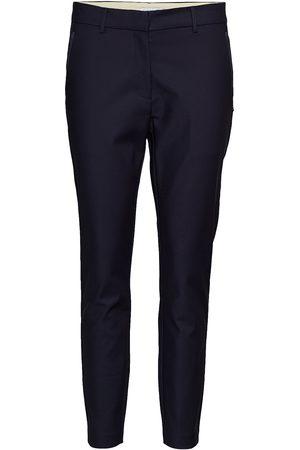 Coster Copenhagen Kvinna Dressade byxor - Pants With Zipper Pockets - Julia Byxa Med Raka Ben