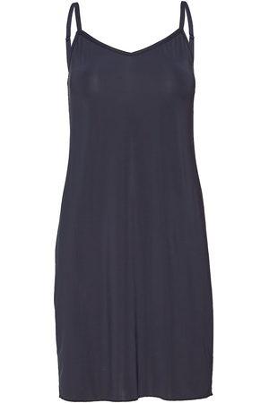 Saint Tropez Slip Dress Kort Klänning Blå