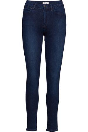 Wrangler Kvinna High waist - High Rise Skinny Skinny Jeans