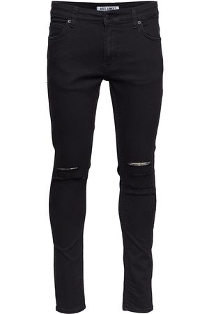 Just Junkies Man Skinny - Max Black Holes Skinny Jeans