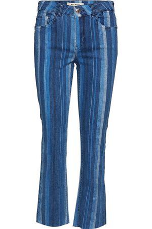 Mos Mosh Sim Stripe Jeans Jeans Utsvängda