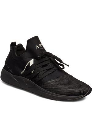 Arkk Copenhagen Raven Mesh S-E15 All Black White - Låga Sneakers