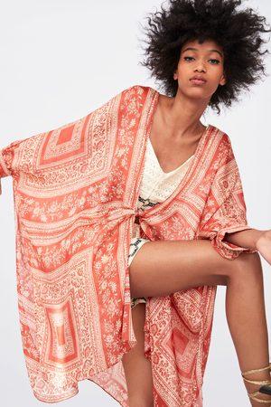 Zara Mönstrad kimono